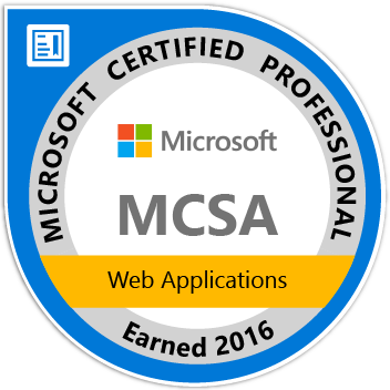 Microsoft Certified Professional MCSA: Web Applications